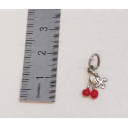 Croix basque 1/2 bombée or...