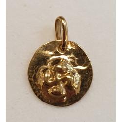 Collier et croix basque acier